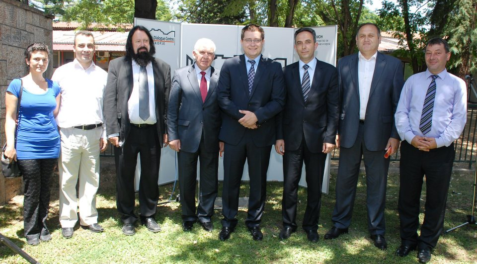Official opening of the Training Center for integrated education within NDC Skopje