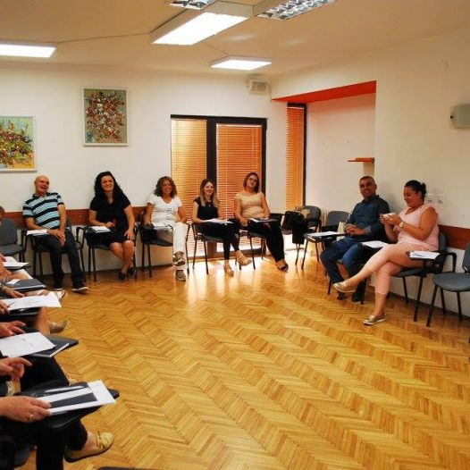Five groups of participants begin the advanced level training program for integrated education