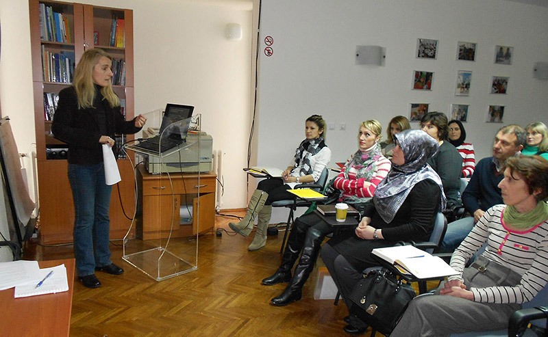Lectures with local experts for group I and existing cadre of teachers
