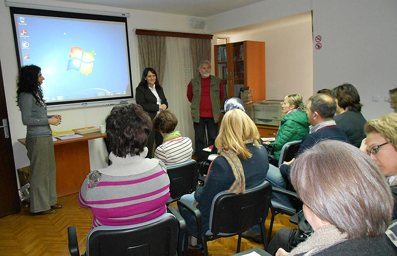 Lectures with local experts held for the teachers from the second group