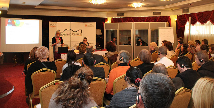 Conference on Integrated Education organized by NDC Skopje