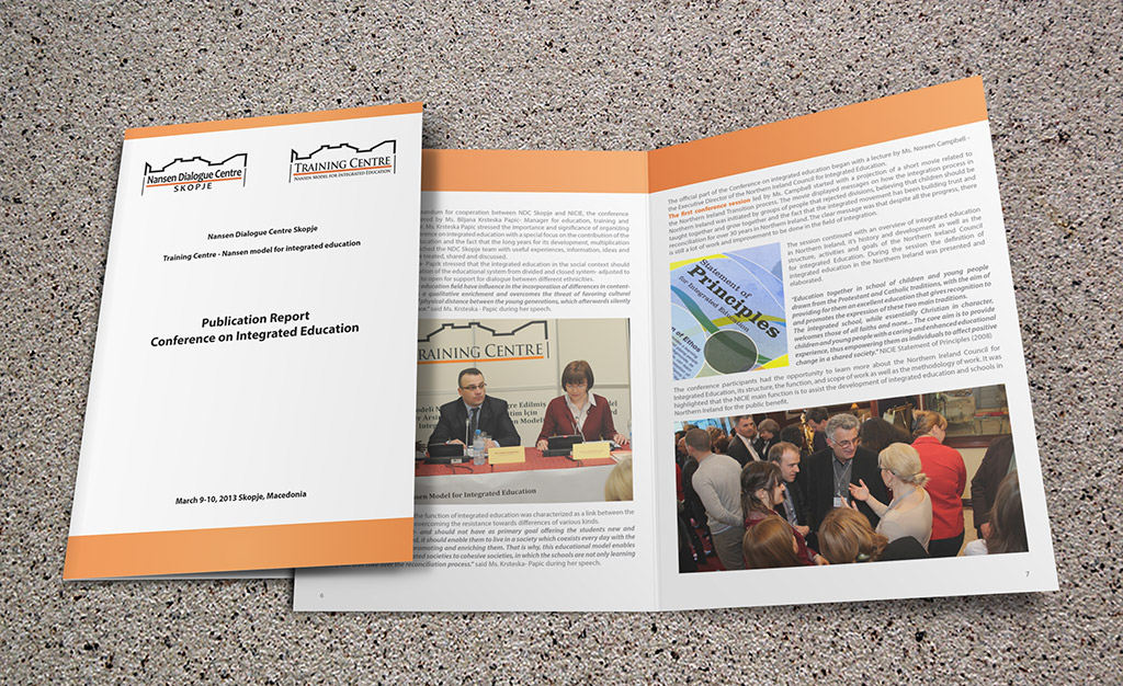 NDC Skopje has published the report on the Conference on Integrated Education held in March 9-10, 2013 in Macedonian, Albanian, Turkish and English language
