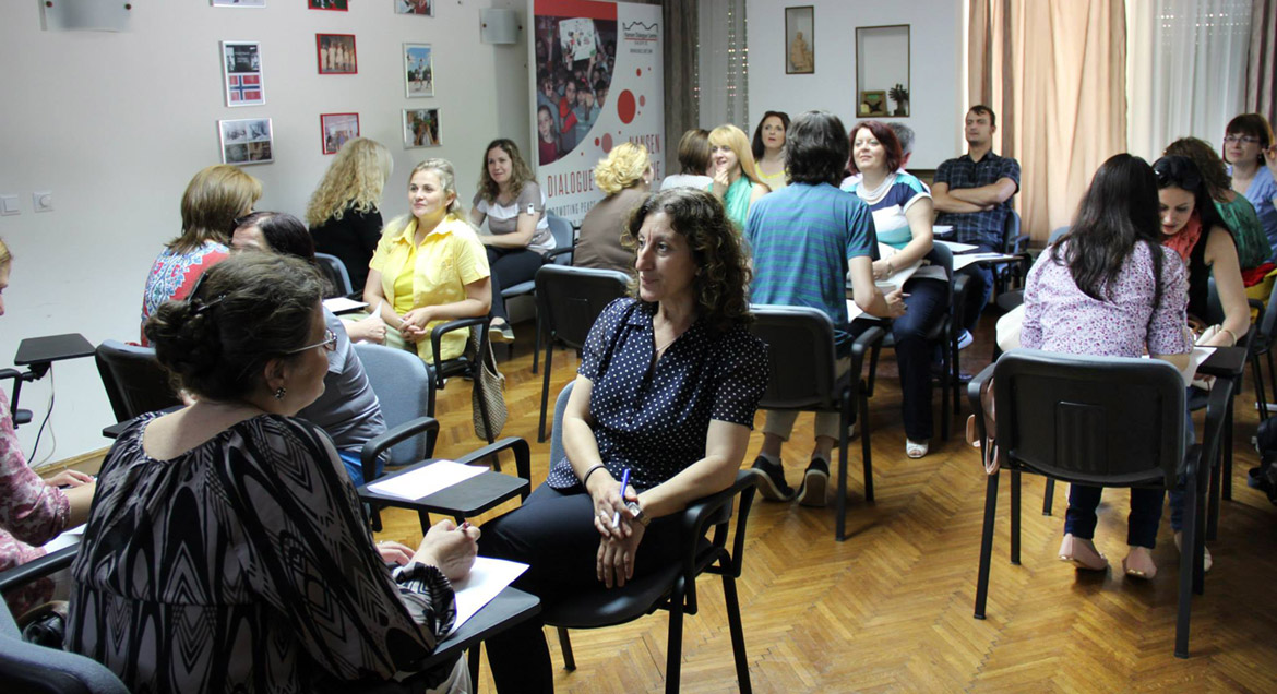 Group 3 and 4 participants attended the lectures with local experts