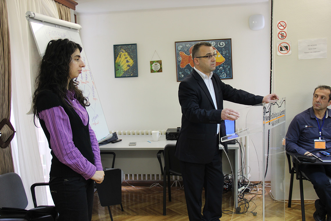 """Startup of the training of teachers from vocational secondary schools within the project """"Multiethnic concept in education"""""""