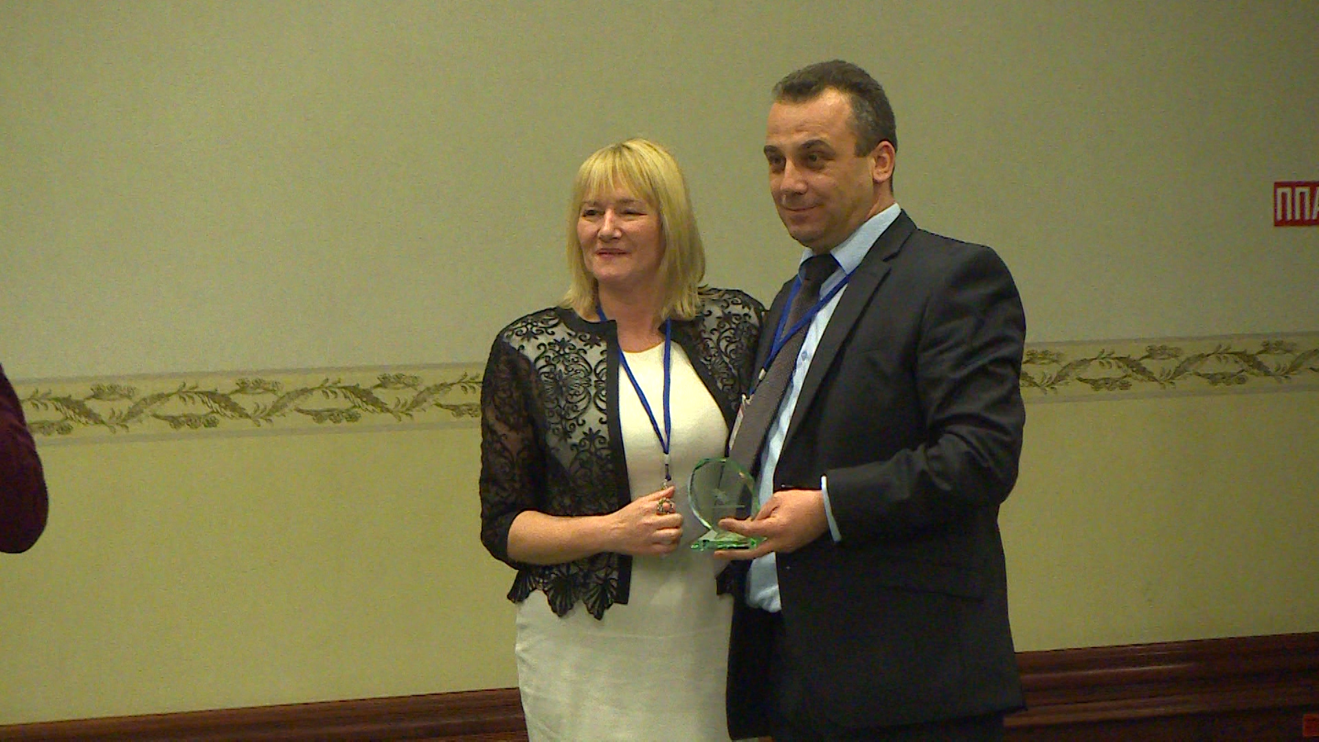 NDC Skopje receives recognition award from NICIE