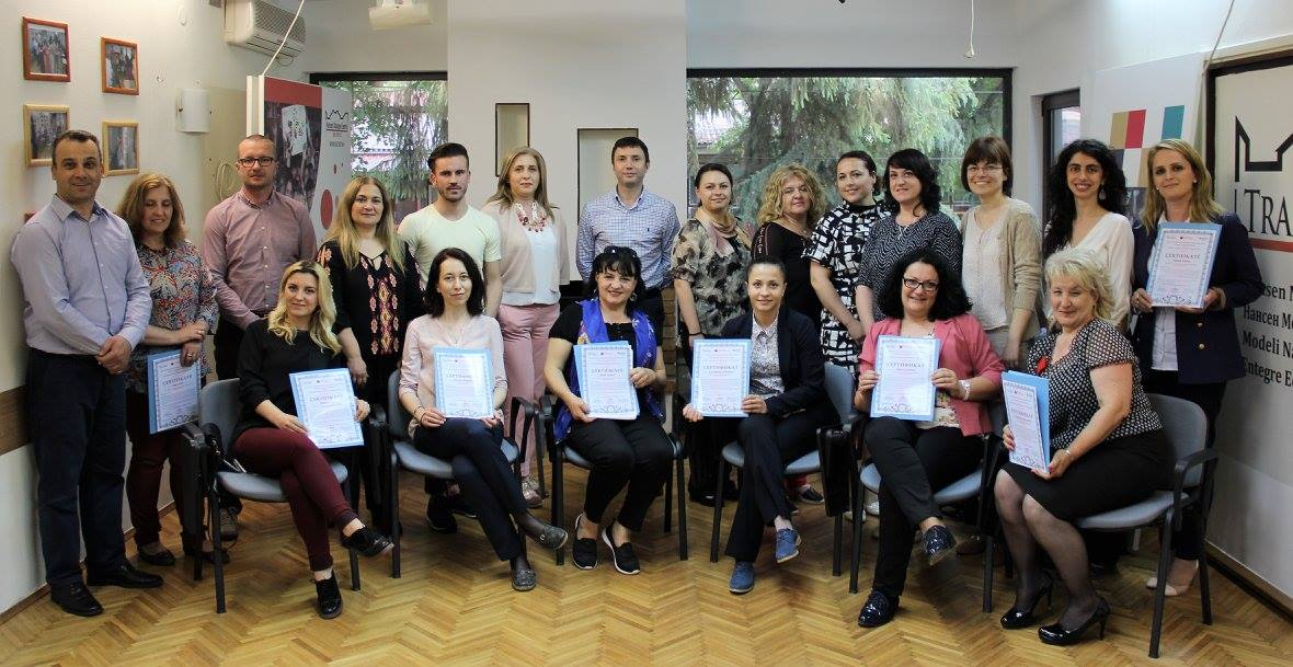 Five groups of trainees successfully complete basic level training for integrated education