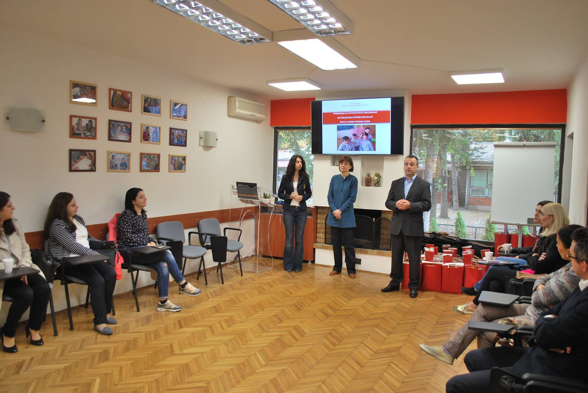 NDC Skopje Training Centre welcomes five new groups in the basic level training for integrated education