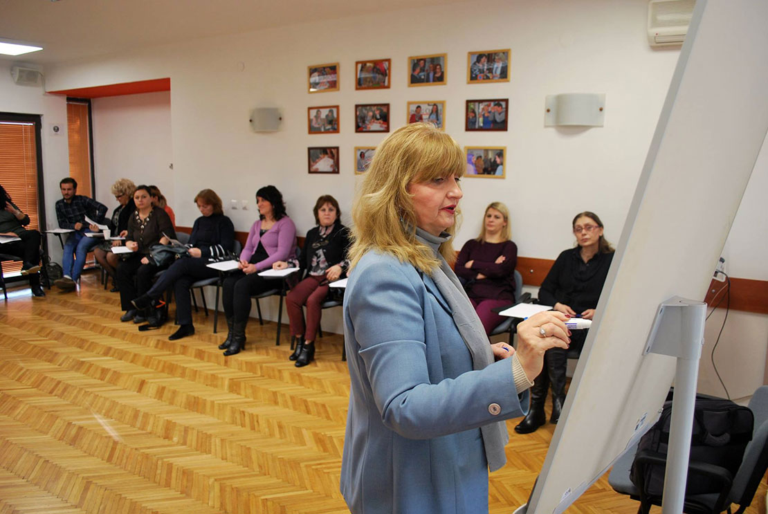 Lectures with local experts within the advanced level of training