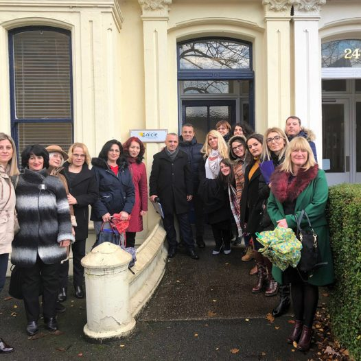 Teachers and school principals from Nansen model school on a study visit to Northern Ireland