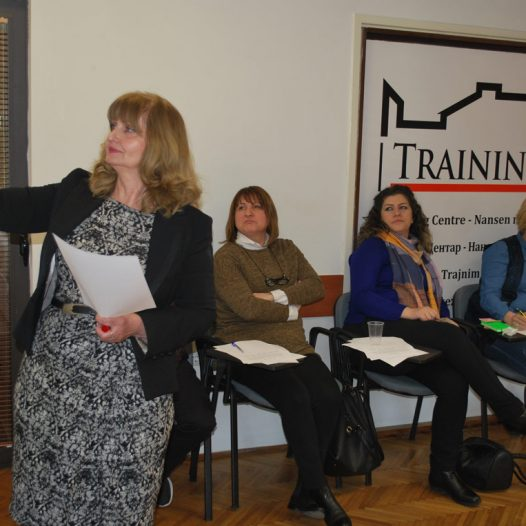 Third advanced level training workshop with local expert