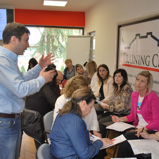 Workshop for teachers from the third level of training