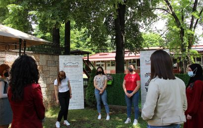 Rounding up the NDC Skopje trainings with students from the Institute of Pedagogy