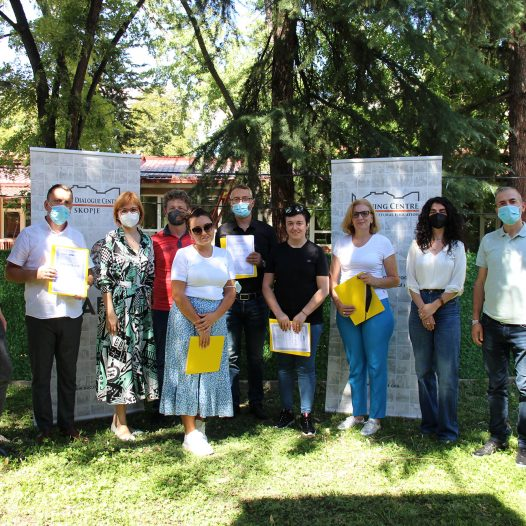 Completion of Module B training with Kosovo group